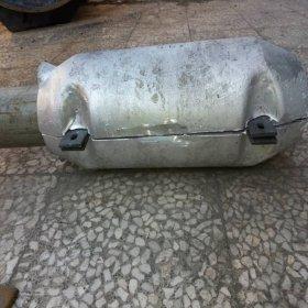 Aluminium sacrified anode