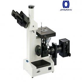 میکروسکوپ اینورت متالورژی مدل IMM-420 همراه با دوربین 10 مگاپیکسل