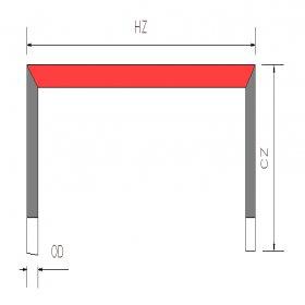 المنت حرارتی SiC (نوع U)