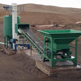 خط تولید پودر سنگ آهن ،گچ، کربنات و قیر معدنی