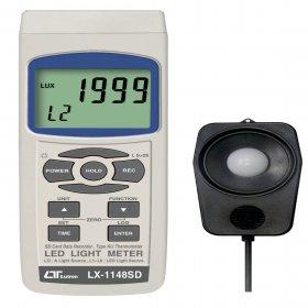 LEDتسترولوکس مترباقابلیت اتصال کارت حافظه مدلLX-1148SD
