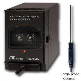 ترانسمیتر دما با پراب تیپK مدل TR-TMK1A4
