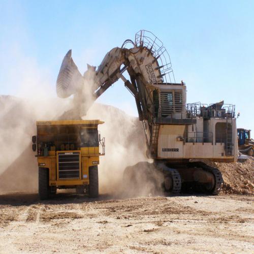 حفاری و استخراج معدن